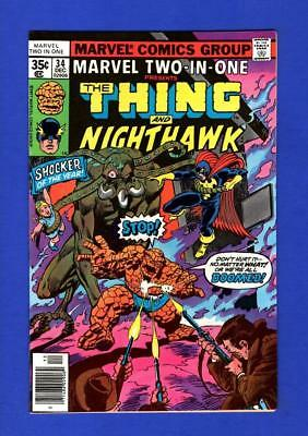 Marvel Two-In-One #34 Nm 9.4/9.6 High Grade Bronze Age Marvel Comic