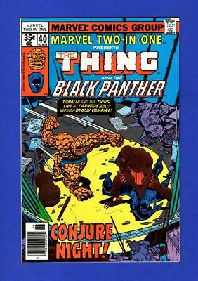 Marvel Two-In-One #40 Nm 9.4/9.6 High Grade Bronze Age Marvel Comic