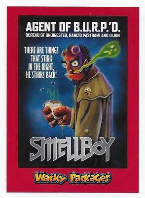 2018 Topps Wacky Packages Go to the Movies RED PARALLEL SMELLBOY  2/10
