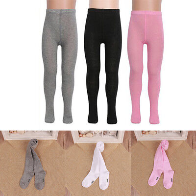 Baby Girls Kids Cotton Hosiery Pantyhose Warm Knitted Pants Stocking Sock Tights