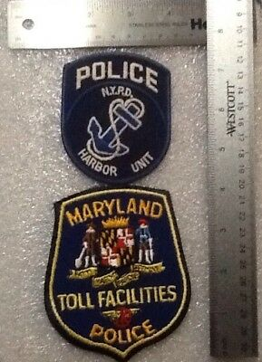 Lot Mixed Police Department New & Used Patches