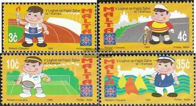 Malta 906-909 (complete.issue.) unmounted mint / never hinged 1993 Sports