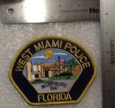 West Miami Police Department Florida Patch