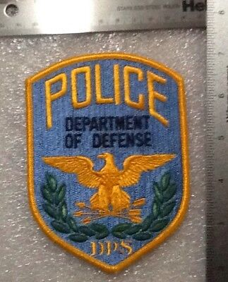 Old Version Pentagon Police Department Of Defense Patch