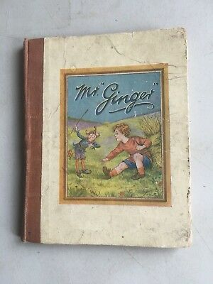 The Story Of Mr Ginger Illustrated By M. Morris And Thirkell Pearce