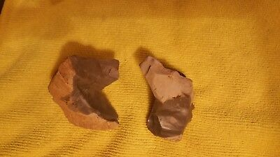 Horse Effigy Pair, Authentic Native American Artifacts