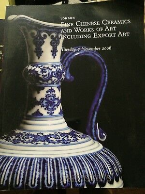 Christie's:Important Chinese Ceramics and works.of art Inc export. nov 2006