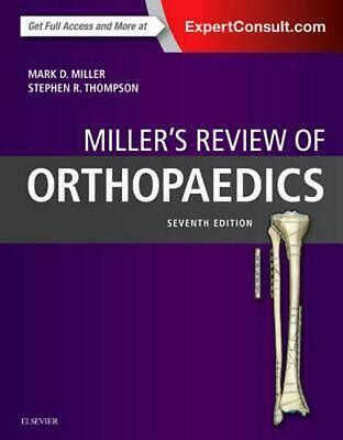 Review of Orthopaedics 7th Edition by Mark D. Miller (English) Paperback Book Fr
