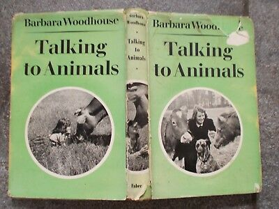 Barbara Woodhouse Talking To Animals 1St Ed Book Dogs Horses Goats Cats
