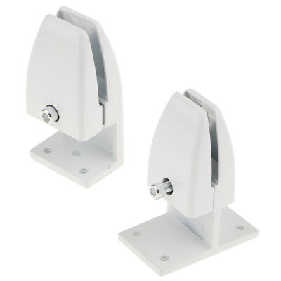 2 Office Partition Clamp Bracket Cubicle Clips Fixed Pin Office Divider Clip