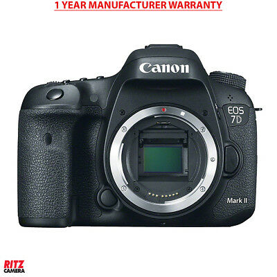 Canon EOS 7D Mark II Digital SLR Camera with 1 Year Manufacturer Warranty