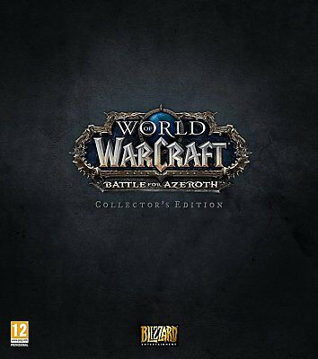 World of Warcraft: Battle for Azeroth - Collector's Edition (PC)  NEW AND SEALED