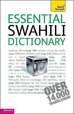 Essential Swahili Dictionary: Teach Yourself, D.V. Perrott