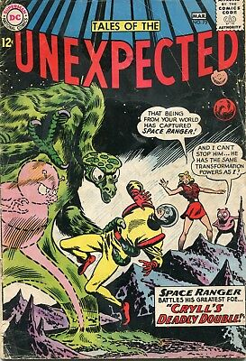 Tales Of The Unexpected # 75 - Space Ranger - Bob Brown Art- Cents Copy