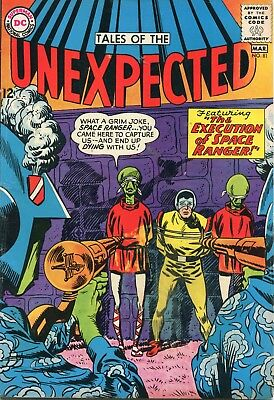 Tales Of The Unexpected # 81 - Space Ranger - Bob Brown Art - Cents Copy