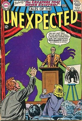 Tales Of The Unexpected # 89 - The Green Glob - Sheldon Moldoff Art -Cents Copy