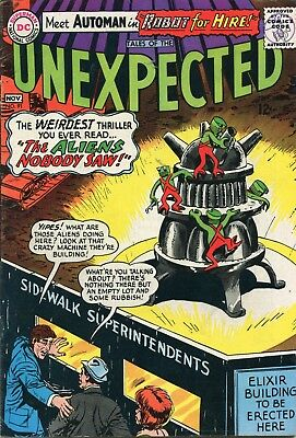 Tales Of The Unexpected # 91 - The Green Glob - Automan - Jack Sparling Art