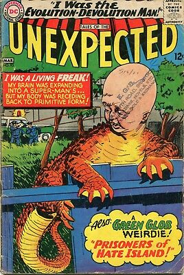 Tales Of The Unexpected # 93 - The Green Glob - Jack Sparling Art