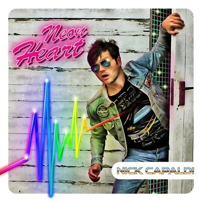 NICK CAPALDI Neon Heart CD NEW 2017