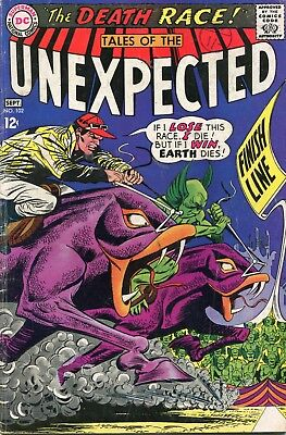 Tales Of The Unexpected # 102 - Green Glob - Lee Elias Art - Infantino Cover Art