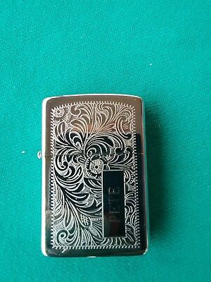 Zippo Lighter In New Like Condition With Pete On Front