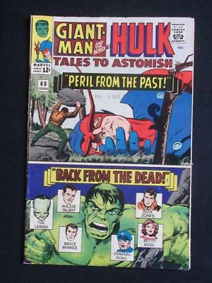 Tales to Astonish #68 MARVEL 1965 - Hulk and Giant-Man, silver age comic books!