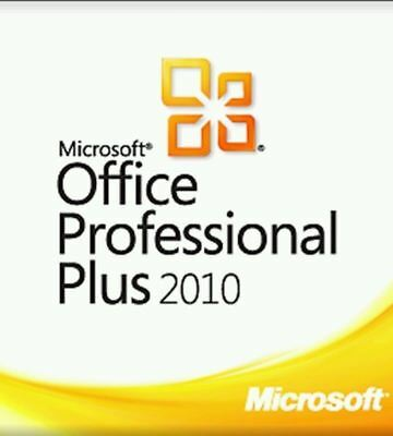 Microsoft Office Professional Plus 2010 for 1 PC * 32/64 Bit * Pro Full Version