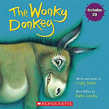 The Wonky Donkey by Craig Smith/Katz Cowley Includes CD paperback book