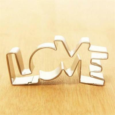 Love Couple Valentine Shape Cookie Dough Biscuit Cutter Pastry Fondant Mold C