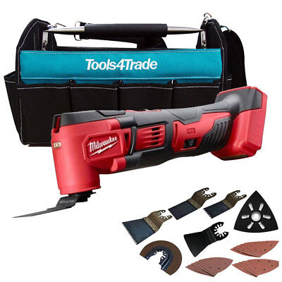 Milwaukee M18BMT-0 M18 Multi Tool With Tote Bag & Extra 36Pcs Accessories Set