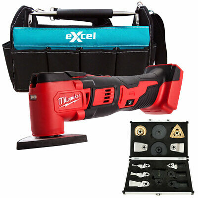 Milwaukee M18BMT-0 M18 Multi Tool With Tote Bag & Extra 13Pcs Accessories Set