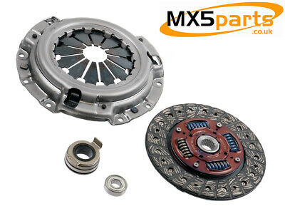 MX5 Exedy 4 Piece Clutch Kit Inc Spiggot Bearing 1.6 Mazda MX-5 Mk1/2/2.5 89>05