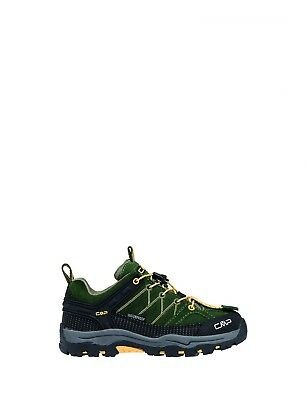 CMP Hiking Trekking Green Kids Rigel Low Waterproof