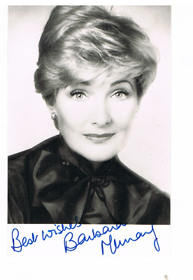 """BARBARA MURRAY-Actress-""""Passport To Pimlico-1949 + Doctor At Large""""-Signed Pic"""