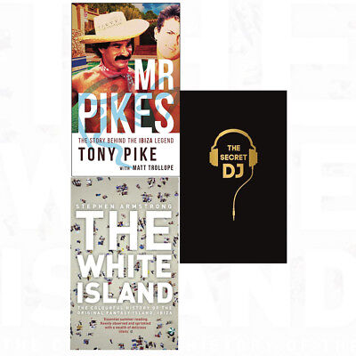 Secret DJ Mr Pikes Story Behind Ibiza Legend White Island 3 Books Collection Set