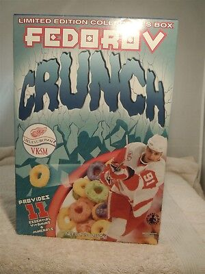 Sergei Fedorov- Fedorov Crunch Limited Edition Cereal Box Full