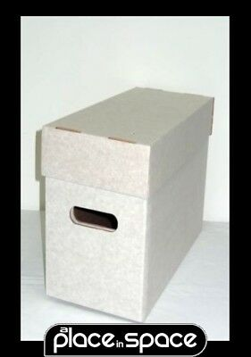 5 Standard Comic Storage Boxes (Diamond) - Hold 200 Comics Each (Supply961)
