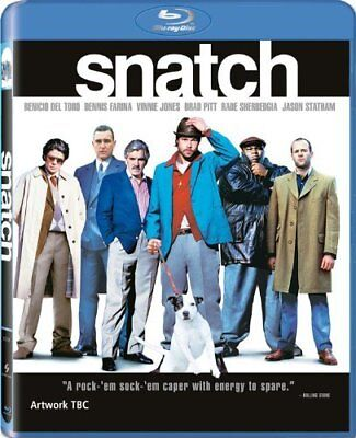 Snatch [Blu-ray] [2009] [Region Free] -  CD 78LN The Fast Free Shipping