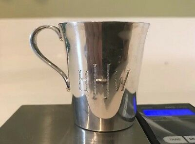 Tiffany & Co. Makers Sterling Silver Cup #22499
