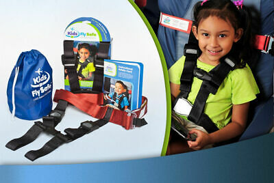 Cares Kids Fly Safe Airplane Safety Harness for Children ~ FAA-Approved