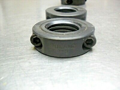 qty 2 - Ruland Shaft Collar, Threaded, 2Pc, 1-8 in, Steel, New