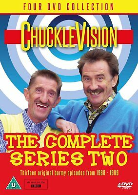 Chucklevision The Complete Season 2 DVD New 2016