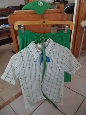 VINTAGE GIRL SCOUT UNIFORM -Blouse, Skirt and Beret and Neck Tie- Circa 1989!