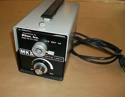 Nikon MKII Fiber Optic Light Source  115vac    150watt