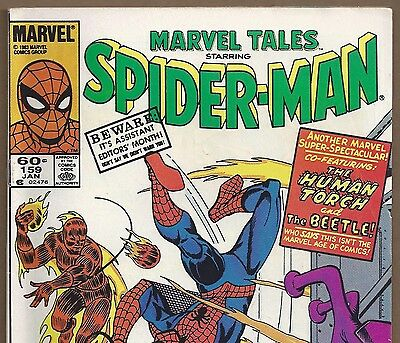 The AMAZING SPIDER-MAN #21 Reprint in Marvel Tales #159 from Jan. 1984 in Fine+