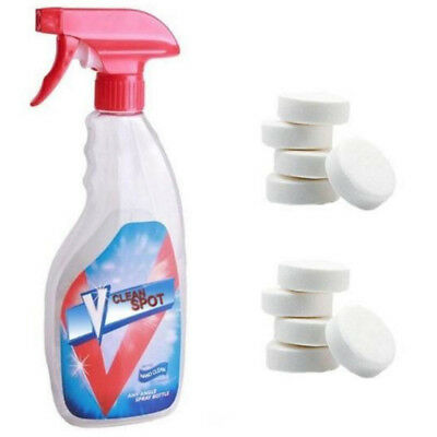 10Pcs Multifunctional Effervescent Spray Cleaner Tablets Home Cleaning Tool Hot