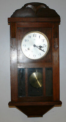 Antique Haller Wall Clock Fully Working with its Key