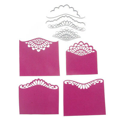 Flower Frame Cutting Dies Stencil Paper Cards Craft Embossing DIY Die-Cut Fashio