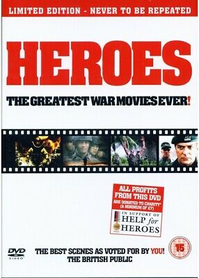 [DVD] Heroes: The Greatest War Movies Ever!