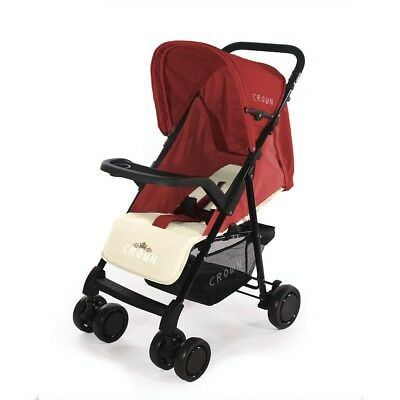 Microbuggy Funzione Reclinabile Super Compatto Smart Carriola crown Passeggino